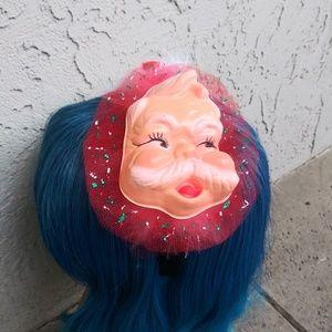 Ugly Sweater Party Santa Face Headband